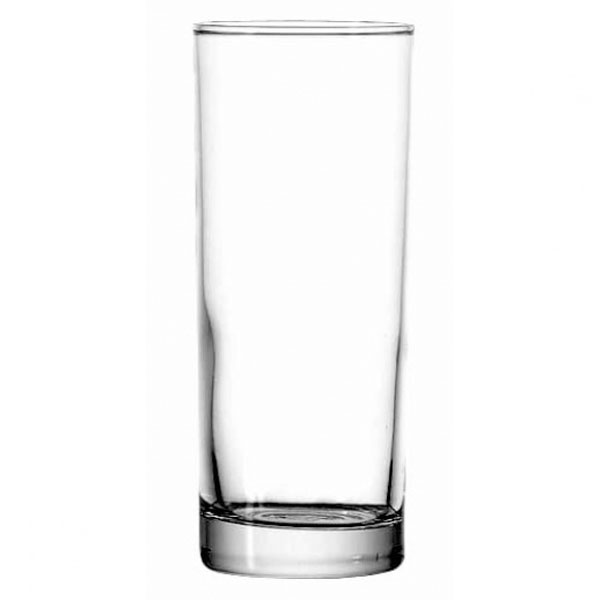 Anchor 3181EU 10 oz Heavy Base Collins Glass, Crystal