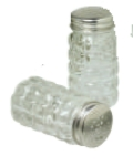 Anchor 35248 3.25-in Tabletop Salt & Pepper Shakers, Crystal