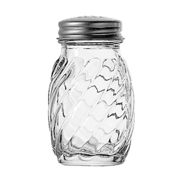 "Anchor 39122 3"" Salt/Pepper Shaker w/ Metal Lid, Round"