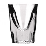 Anchor 5280VUEA Fluted Whiskey Shot Glass, 1 - 1/4 oz.
