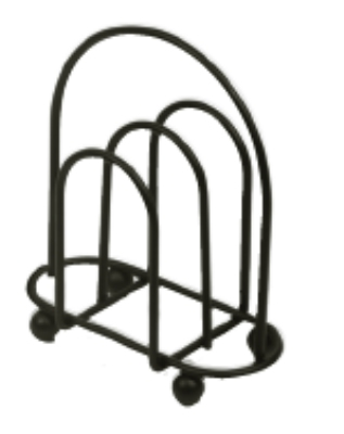 Anchor 62641BCK Napkin Holder, Black