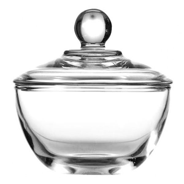 Anchor 64192B 8 oz Presence Sugar Bowl With Cover, Crystal