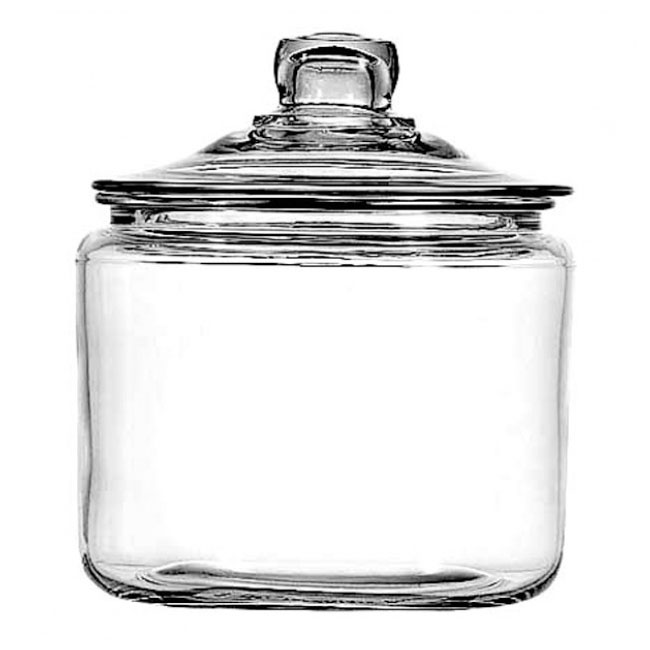 Anchor 69832T 3 qt Heritage Hill Jar With Glass Lid
