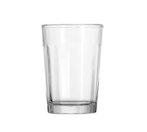 Anchor 7631U Ribware Beverage Glass, 9 oz.