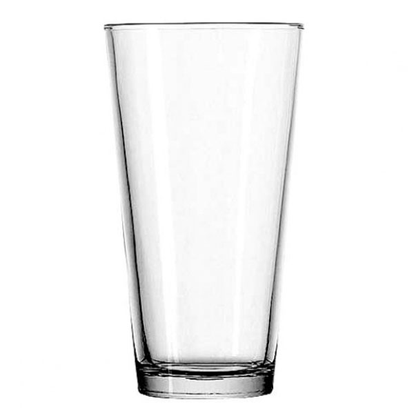 Anchor 77422 Mixing Glass, Rim - Tempered, 22 oz