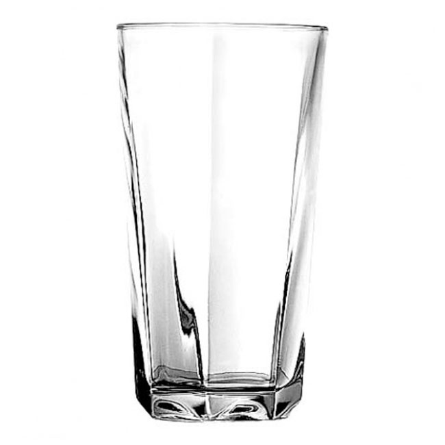 Anchor 77796 Clarisse Cooler Glass, Rim-Tempered, 16 oz.