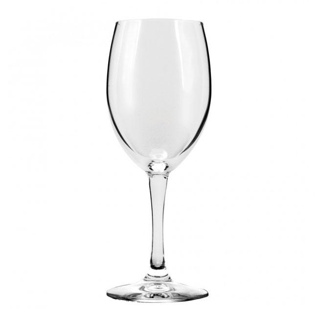 Anchor 80018 Florentine Wine Glass, 8 - 1/2 oz