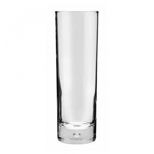 Anchor 80443 Disco Hi-Ball Glass, Rim - Tempered, 10 oz