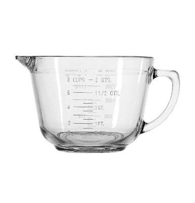 Anchor 81605E 2 qt Batter Bowl, Crystal