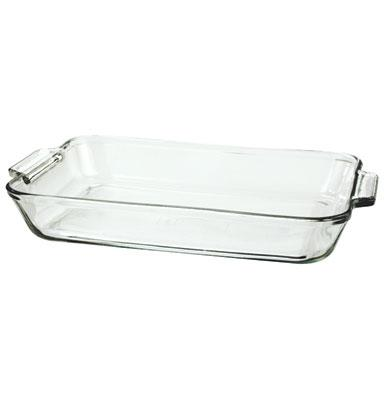 Anchor Hocking 81938OBL5 5 qt Oven Basics Bake Dish Crystal Restaurant Supply