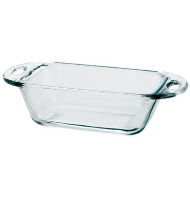 Anchor 81995L9 Premium Baking Dish, 1.5 qt, Loaf, Crystal