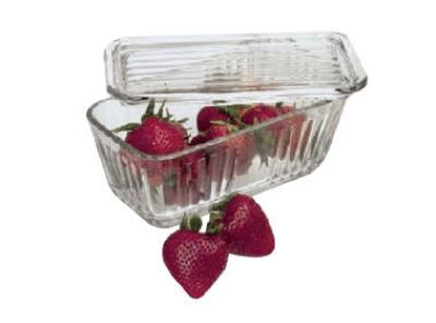 Anchor Hocking 85695L9 5 cup Bake-N-Store Dish With Glass Lid Crystal Restaurant Supply