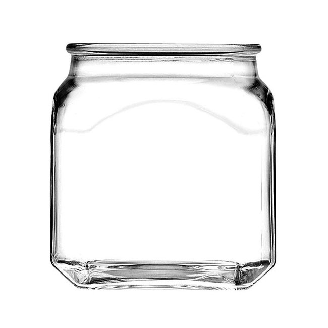 Anchor 85975 10-oz Emma Jar w/ Glass Cover