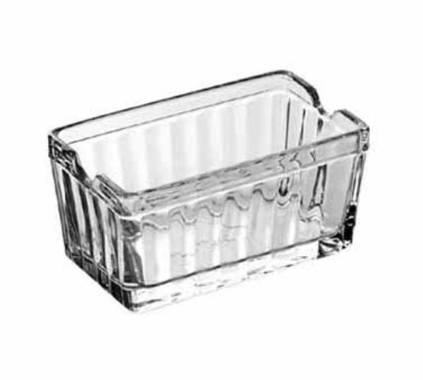Anchor 86238 Sugar Packet Holder, Glass