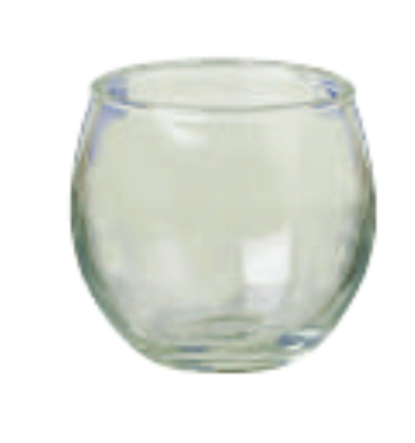 Anchor 89011 Roly Poly Votive, Crystal