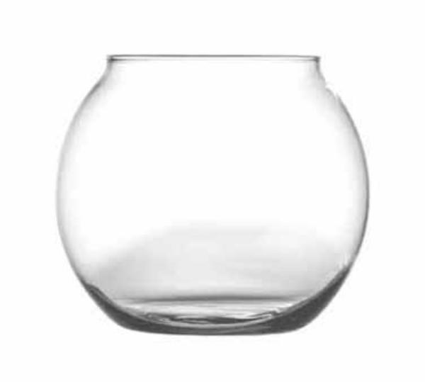 Anchor 89016 Rose / Fish Bowl, 50 oz., Glass