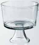 Anchor Hocking 89269 Presence Footed Trifle, Crystal