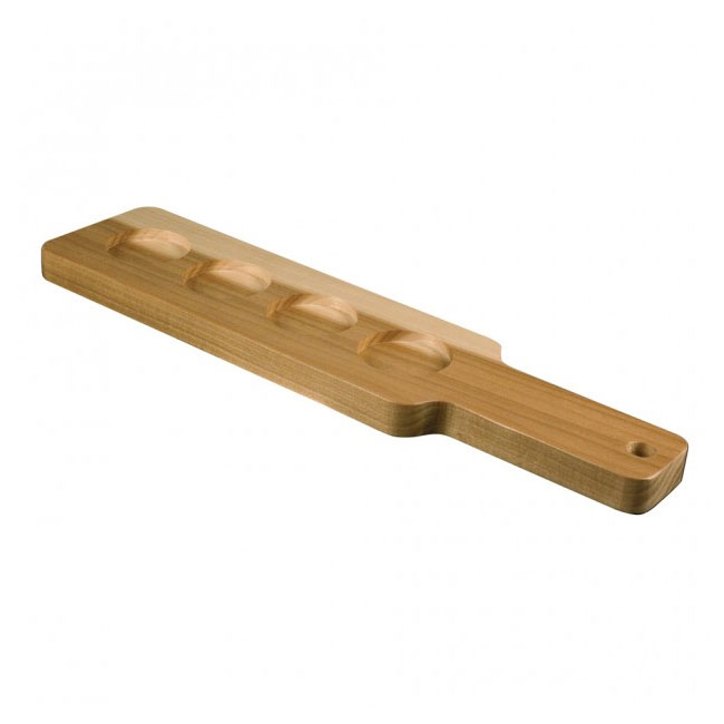 Anchor 90038 Wooden Beer Tasting Paddle, Holds (4) 5-oz Beer Tasters