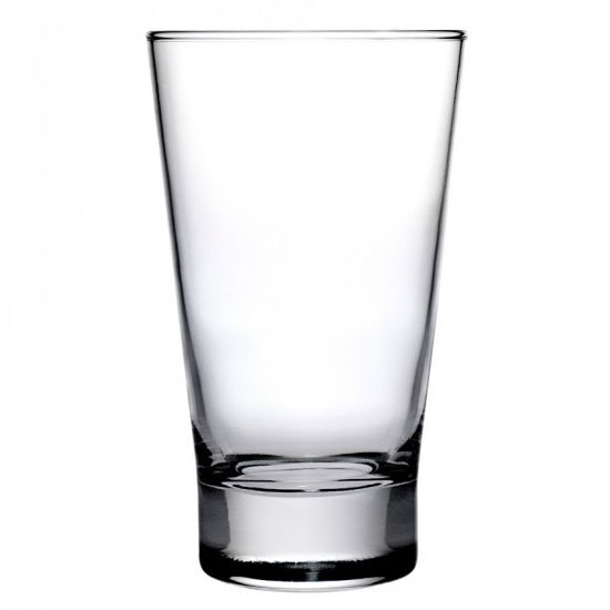 Anchor 90235 Omega Beverage Glass, 13.5-oz w/ Tempered Rim