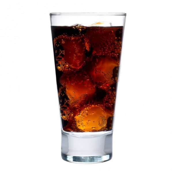 Anchor 90236 Omega Cooler Glass, 16-oz w/ Tempered Rim