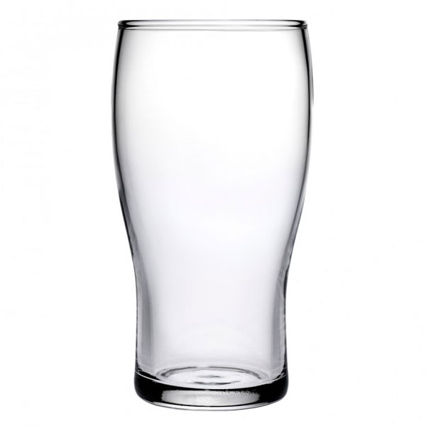 Anchor 90243 Tulip Beer Glass, 20-oz w/ Tempered Rim