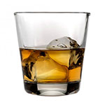 Anchor 90253 Clarisse Double Old Fashion Glass, 12-oz, Stackable & Tempered Rim
