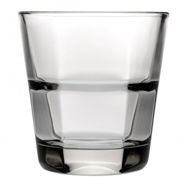 Anchor 90262 Clarisse Rocks Glass, 8-oz, Stackable