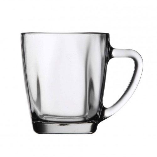 Anchor 90284 14-oz Glass Coffee Tea Mug