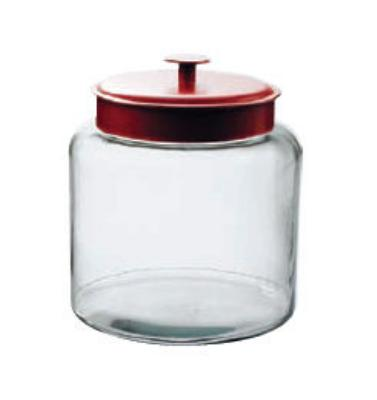 Anchor 91022 1.5-gal Montana Jar w/ Red Metal Cover