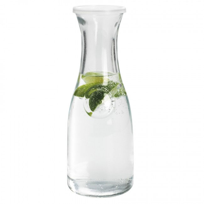 Anchor 93084 1-liter Carafe w/ Lid, Clear