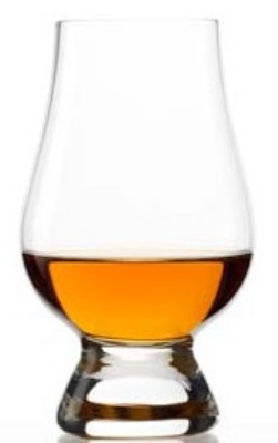 Anchor 93211 6.25-oz Glencairn Whiskey Taster w/ Gift Box, Crystal
