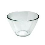 Anchor 94684 3-qt Contemporary Mixing Serving Bowl, Crystal