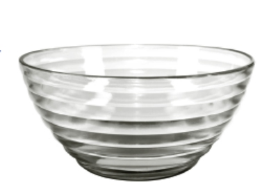 Anchor 94744W9 9-in Cameron Bowl, Crystal