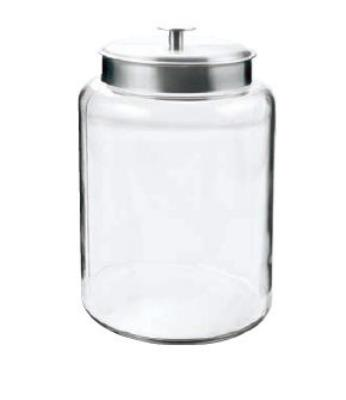 Anchor 95507 2.5-gal Montana Jar w/ Brushed Aluminum Metal Cover, 12x6.38x8.63-in
