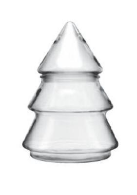 Anchor 95726 61-oz Tree Jar w/ Closed Fitment, Crystal