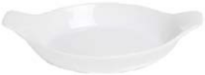 "Anchor 95931 6.5x4"" Au Gratin Dish, White"