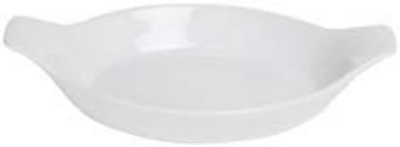 "Anchor 95932 11x7"" Au Gratin Dish, White"