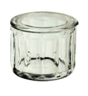 Anchor 96534 Fire King Salt Dip, Crystal