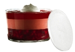 Anchor 96983 Presence Trifle w/ White Plastic Lid, Crystal