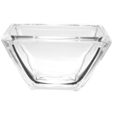 Anchor 97034 Square 9-in Sure Guard Serving Bowl, Glass