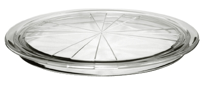 Anchor Hocking 97049 12 in Troy Serving Plate Crystal Restaurant Supply