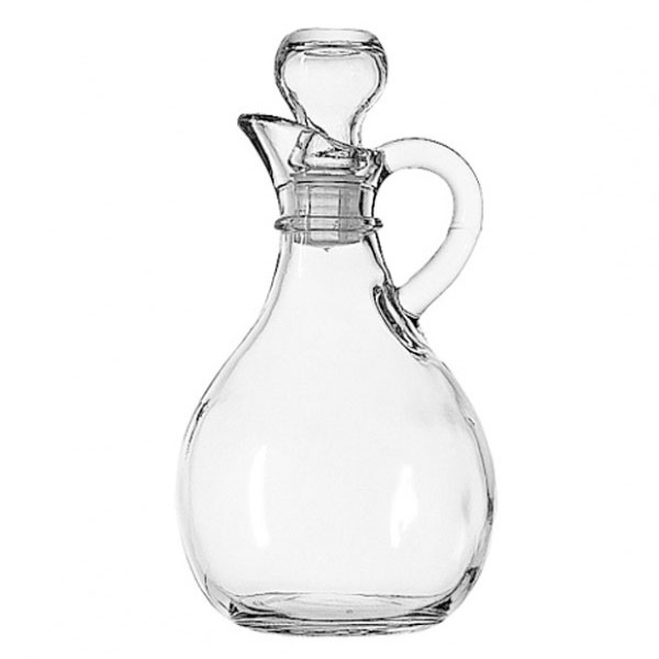 Anchor 980R 10 oz Presence Cruet With Stopper, Crystal