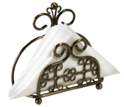 Anchor 98712 Reflections Folded Napkin Holder, Venetian Bronze