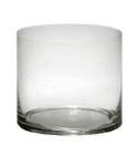 Anchor 99056 5-in Cylinder Base, Crystal