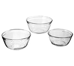Anchor 81572L11 3-Piece Mixing Bowl Set w/ 1, 1.5 & 2.5-qt Bowls