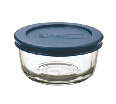 Anchor 85905L11 1-cup Kitchen Storage Bowl w/ Blue Lid