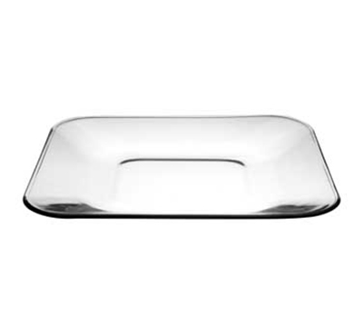 """Anchor 90283 10.5"""" Square Glass Dinner Plate, Fully Tempered"""
