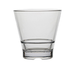 Strahl 710093 9-oz CapellaStack Rocks Glass - Stackable, Polycarbonate, Clear