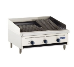 Royal Range RIB-36 LP 36-in Countertop Broiler w/ 3-Infrared Burner & Cast Iron Grate, LP