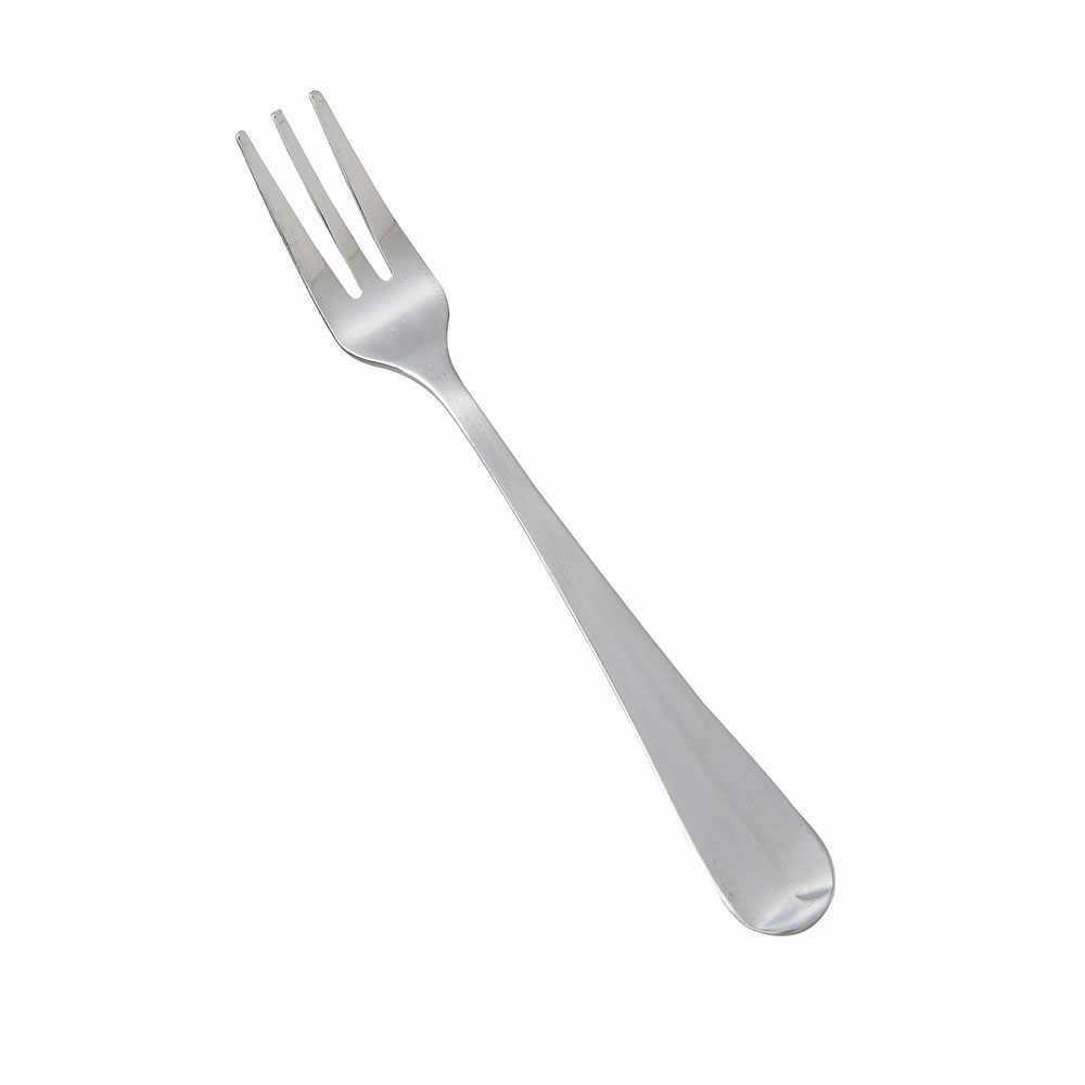 Winco 0015-07 Oyster Fork, Lafayette, Medium Weight, Satin Finish, 18/0 Stainless Steel